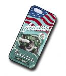 KOOLART AMERICAN MUSCLE Car Retro Ford Mustang 429 Case For Apple iPhone 5 & 5s